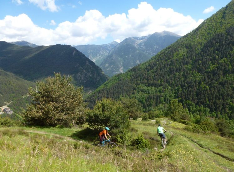 Hidden Valley Trail Off Piste Vallnord Bike Park