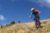 Martin feels blue on Jordis Way descent enduro mountain biking andorra